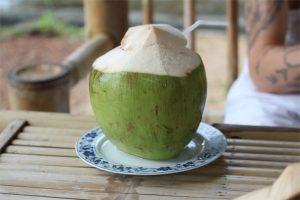 Mascarilla de coco verde
