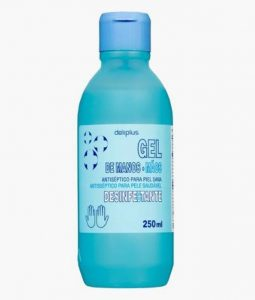 gel hidroalcoholico deliplus