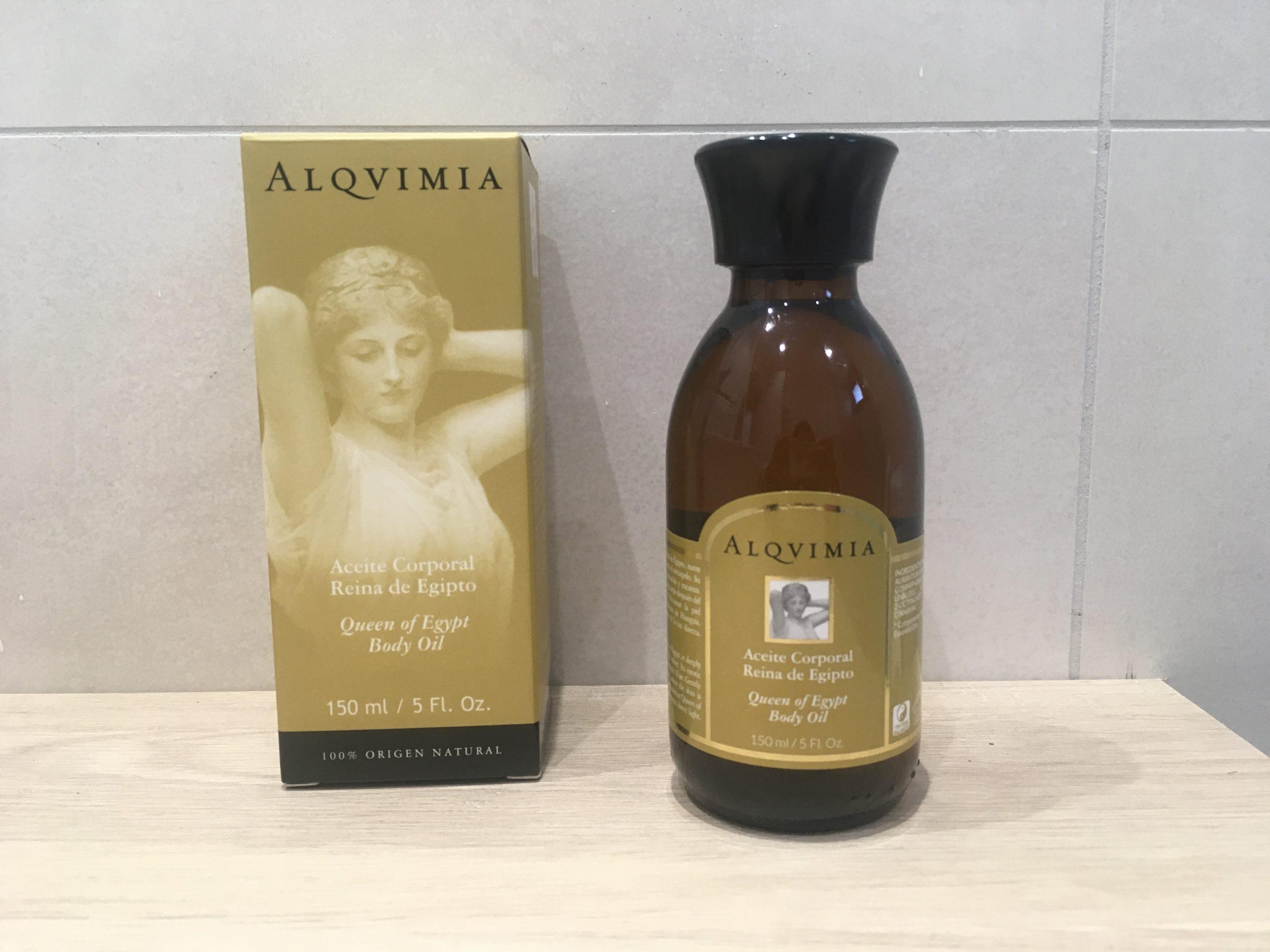 aceite corporal Reina de Egipto de Alqvimia