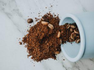 exfoliante granos cafe