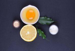 exfoliante clara huevo