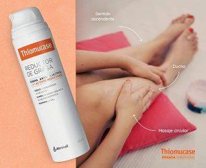 Efectos Thiomucase reductor de grasa