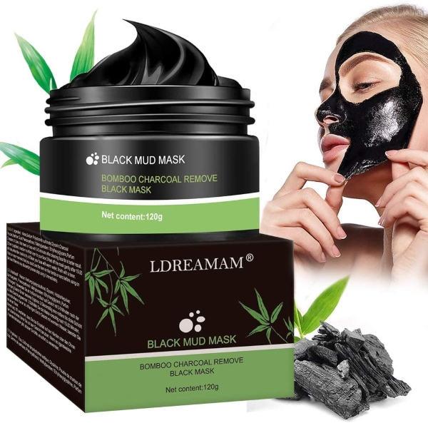 LDREAMAM Black Mask, mascarilla exfoliante negra
