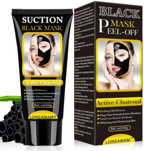 LDREAMAM Suction Black Mask