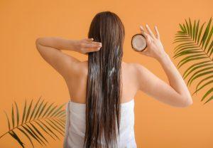 aceite coco cabello