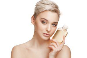 aceite girasol piel